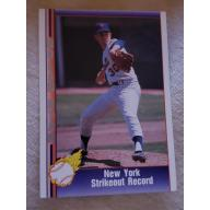 SUPER RARE Nolan Ryan strike out card #122