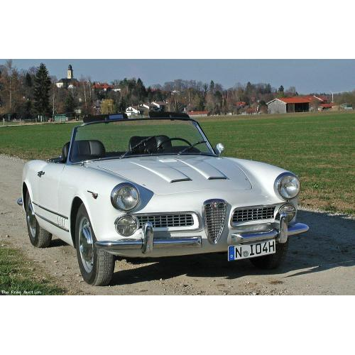1958 Series 102 Alfa Romeo 2000 Spider Touring