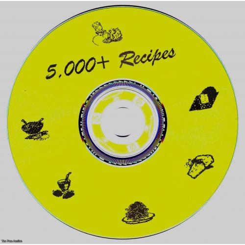 5,000  UNIQUE RECIPES ON CD-ROM/COPY WITH RESELL RIGHTS
