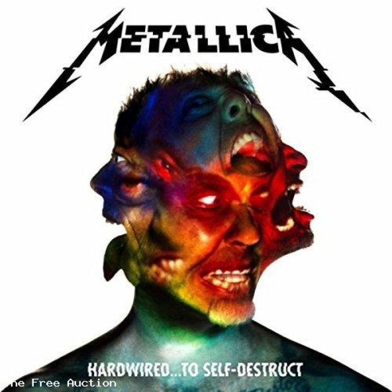METALLICA CD - Hardwired...To Self-Destruct (Deluxe)