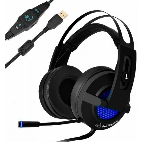 Attack Gaming Headset B10 7.1 Channel Surround Sound Stereo Over-Ear