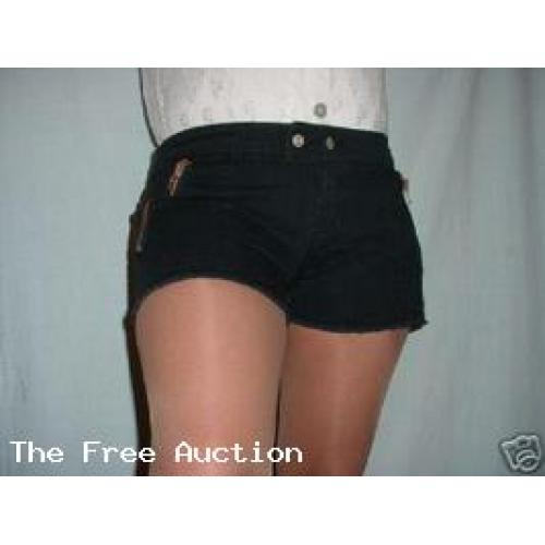 Sexy Blueasphalt Micro Mini Shorts Hot Pants NWT 13