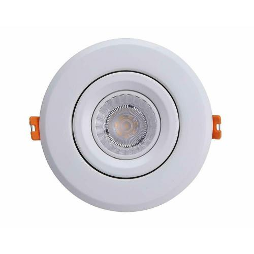 Cloudy Bay 4 inch LED Recessed Dim-able Light w/ Junction Box Gimbal Retrofit