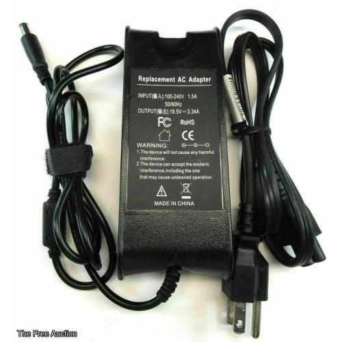 Replacement Dell Laptop PA-12 Charger AC Adapter Power Supply 19.5V 3.34A 65W