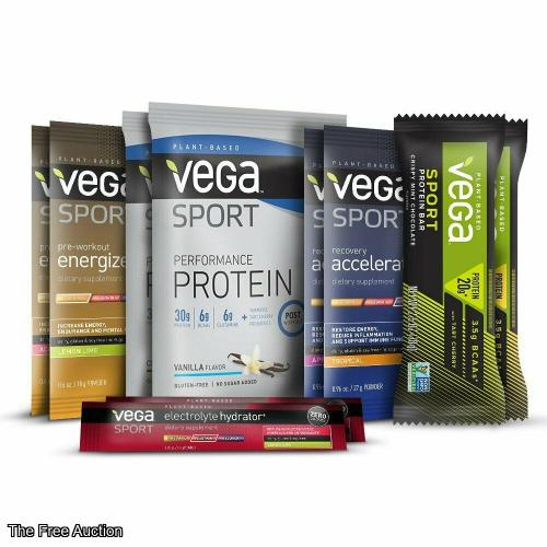 Vega Sport 10 Piece Sample Kit by Vega